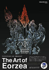 FINAL FANTASY XIV: A Realm Reborn The Art of Eorzea +Serial code genuine JAPAN