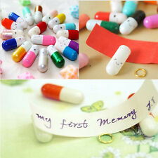 Unique 50 Pcs Korean Popular Message Capsule Adorable Pills To Send Your Love