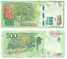 NEW !!! NOTE ARGENTINA 500 PESOS (2016) UNC NEW NEW !!!!!!!!!!!!!!!!!!