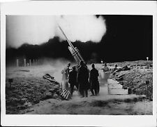 Russian Soviet Red Army Anti-Aircraft Gun in action 1941 Press Photo