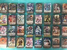 Cardfight! Vanguard Cards 100 CARD LOT Collection CFV Guaranteed R/RR/RRR/SP/GR