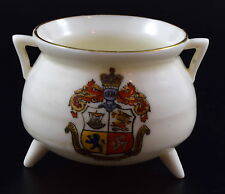 WH GOSS Arcadian Crested China OLD MANX POT AT PEEL