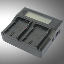 LCD-Show Dual Battery Charger for Panasonic CGA-D54 CGR-D54S AG-HVX200P NV-DS30