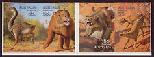 AUSTRALIA 2008 MEGAFAUNA SELF ADHESIVE STRIP OF 4 FINE USED