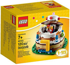 LEGO 40153 Birthday Decoration Cake Set