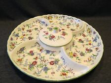 Andrea by Sadek Divided Serving Tray With Center Bowl With Cover