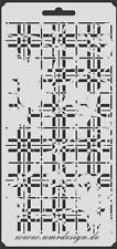 Scrapbooking Schablone S-103  Picknik Vintage ~ Stencil ~ UMR-Design