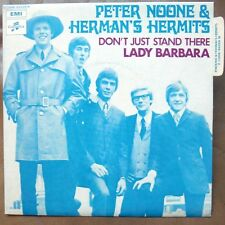 """PETER NOONE & HERMAN'S HERMITS Lady Barbara 7"""" RARE FRENCH PS MINT!"""