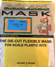 Eduard 1/32 JX163 Canopy Mask for the Italeri F-104G/S Starfighter kit
