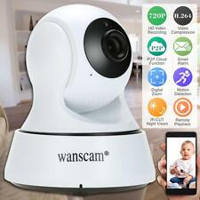New Wireless WIFI HD 720P IP Camera ONVIF Night Vision Motion Detection US B0J2