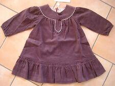 (208) FETE CACHAREL bébé manches longues finement Kord robe A-forme coupé gr.98