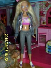 """MATTEL BARBIE MY SCENE DOLLS """"KENNEDY"""" PINK LIPPED,STRETCH OUTFIT 3 PC/ SHOES"""