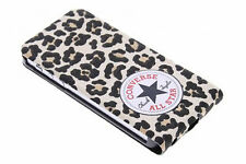 Converse Flip Case for iphone 5S (Leopard Print)
