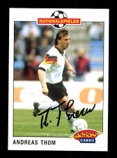 Andreas Thom DFB Panini Action Card 1992-93 TOP +A 116745 D