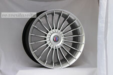 "19"" HYPER SILVER ALPINA STYLE WHEELS RIMS FITS BMW 528I 535I 5 SERIES AWD ONLY"