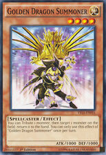 Ys14-en016 Golden Dragon Summoner 1st Edizione Carta YuGiOh