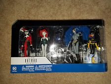 Batman The Animated Series 4 Figures Catwoman, Poison Ivy, Harley, & Batgirl