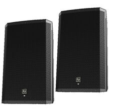 "EV ELECTRO VOICE ZLX-15P Active 15"" 2way DJ PA Speakers PAIR"