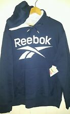 Reebok Performance Athletic Pullover Sweatshirt Hoodie: Large (New With Tags)