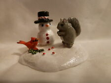 WEE FOREST FOLK SPECIAL COLOR SQUIRRELY BIRD SOLD OUT