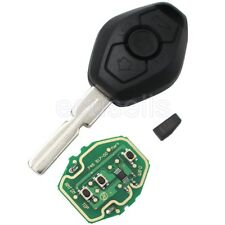 Full Remote Key For BMW 3 5 7 SERIES E38 E39 E46 315MHZ/433MHZ HU58 + ID44 CHIP