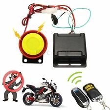 Motorcycle Auto Anti-theft Security Alarm System Remote Control Engine Start 12V