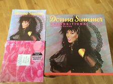 "Donna Summer - Unconditional Love - UK 12"" & 2 X 7"" Collectors Edition Set.RARE"