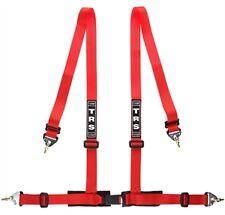 Trs clubman 4 point snap on Lotussiens harnais en couleur rouge * authentique objet *