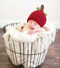 Newborn Baby Infant Knit Sweater Crochet Photography Prop Hats fit 0-9M 0055