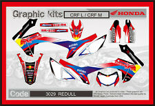 Honda CRF250L & CRF250M Decals Sticker Graphics, Red Bull 2