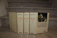M.Honegger / dictionnaire des oeuvres de l'art vocal en 3 vol (complet)