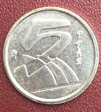 5 Pesetas 2001 Plata Silver Moneda FDC España Ultima Edicion Peseta Leer!! SC