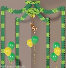 TROPICAL Jungle Safari MONKEY PARTY CANOPY Hanging Party Decoration Birthday