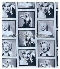 "Amariver 72"" Marilyn Monroe Waterproof Fabric Shower Curtain(COLOR1) T323 NEW"