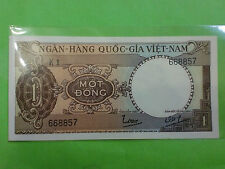 South Vietnam 1 Dong 1964 (aUNC) 1 越南盾 K1 668857