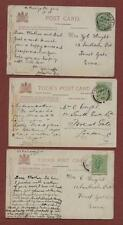 Mrs C Wright, 12 South Esk Road, Forest Gate, London 1906  postcards ps50