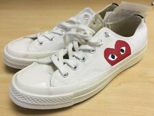 PLAY Comme des Garçons for Converse Sneakers C5602 White 6 Mens 8 Womens Shoes