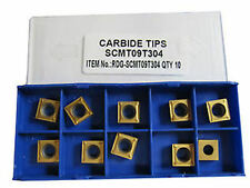 RDGTOOLS SCMT 09 CARBIDE TIPS / INSERTS / INDEXABLE LATHE TURNING TOOLS