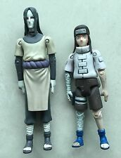 "Lot of 2 Shonen Jump's Naruto 5"" 6"" Action Figure NEJI OROCHIMARU Loose"