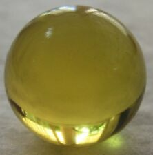 Ref.# 731- Dominican Green Amber natural round sphere bead 15.4 mm( 2 g)