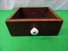 Vintage Wooden Drawer Box Craft Storage Repurpose