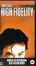 HIGH FIDELITY VHS PAL JOHN CUSACK,JACK BLACK,TIM ROBBINS NEW RARE BARGAIN