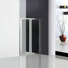 800x1850mm Double Pivot Shower Door Enclosure Inward Space Saving A