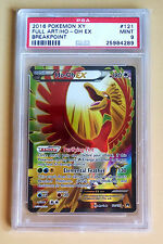 Pokemon XY Ho-Oh EX Full Art 121 Breakpoint PSA 9 Mint BGS