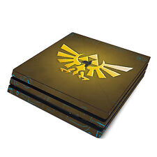 Skin Decal Cover Sticker for Sony PS4 Pro - Zelda Triforce Logo