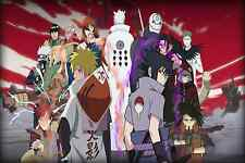 Naruto Shippuden The Final Battle  -  Wall Poster - 30in x 20in - Fast Shipping