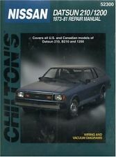 DATSUN 210 1200  1973 1974 1975 1976 1977 1978 1979 1980 1981 Service Manual NEW