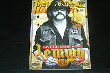 MOTORHEAD LEMMY 1945-2015 GREEK METAL HAMMER MAGAZINE
