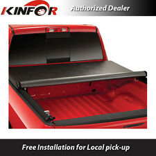 Premium Vinyl Rolling Up Tonneau Cover for 2014-2016 Ford F-150 - 6' 5'' Bed