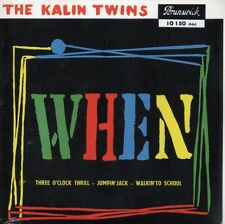 ★☆★ CD SINGLE The Kalin Twins  When 4-track CARD SLEEVE REPLICA NEW SEALED RARE